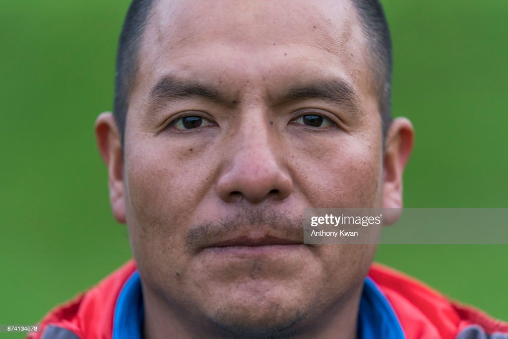 Saul Luciano Lliuya, a farmer from Peru, poses for a portrait at the UN Climate Change Conference on November 14, 2017 in Bonn, Germany. Lliuya is suing German utility RWE, which operates massive coal-fired power plants in western Germany, for compensation due to climate change that affects him directly in his home in Peru. A German regional court ruled yesterday that Lliuya's case is admissable, which allows for it to proceed. Specifically, Lliuya is asking that RWE pay EUR 17,000 for flood defences to protect his home village from floods caused by nearby melting glaciers.