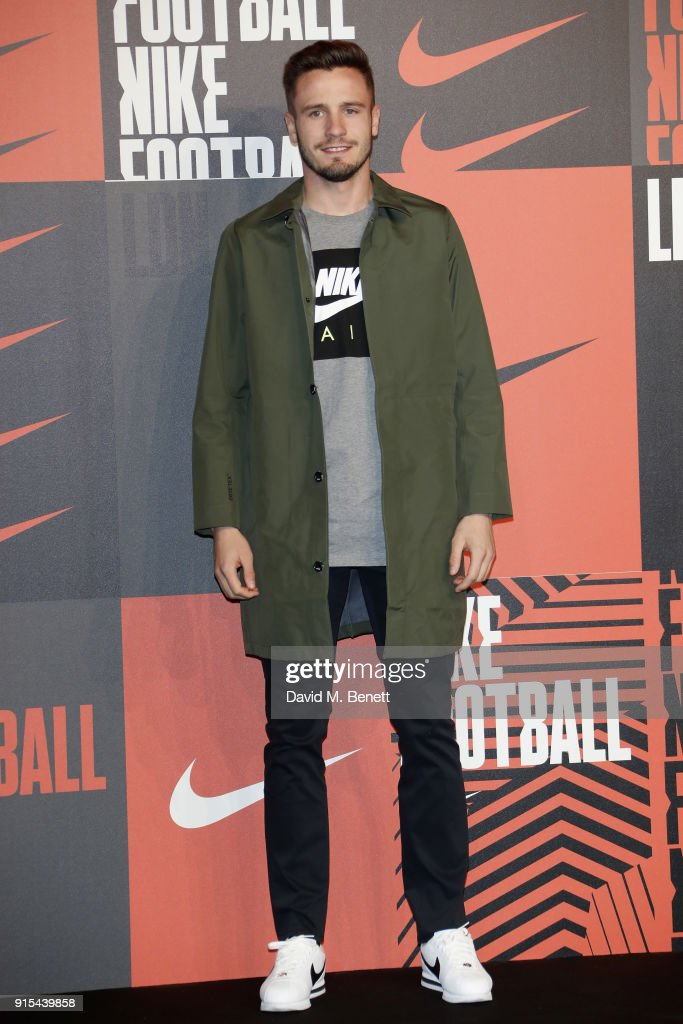 Saul Niguez attends in celebration of the 20th anniversary of Nike's most iconic football boot, some of the world's best footballers arrive in South London to debut its latest versions, the Mercurial Superfly and Vapor 360 at The Printworks on February 7, 2018 in London, England.