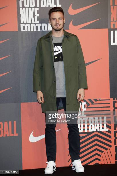 Saul Niguez attends in celebration of the 20th anniversary of Nike's most iconic football boot some of the world's best footballers arrive in South...