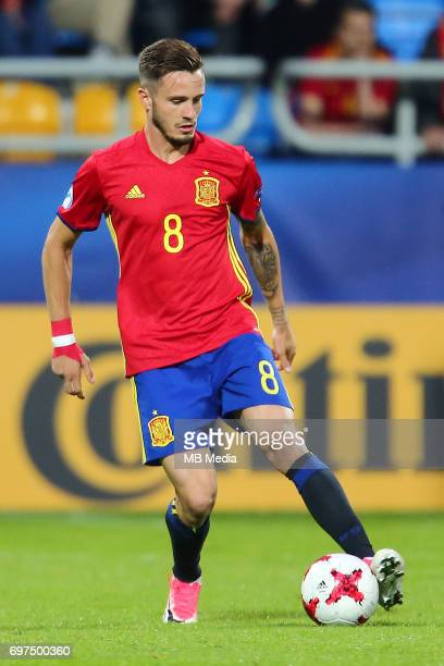 Saul Niguez during the UEFA European Under21 match between Spain and FYR Macedonia on June 17 2017 in Gdynia Poland