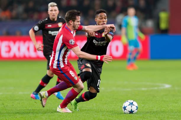 Bayer Leverkusen v Club Atletico de Madrid - UEFA Champions League Round of  16  First 6cb9e5ef591ae