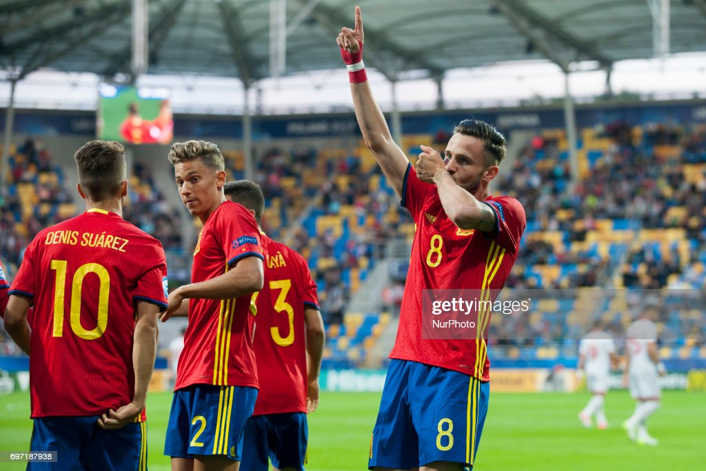 Spain v Macedonia - 2017 UEFA European Under-21 Championship : Foto di attualità