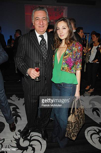 Saul Romano and Nicole Romano attend ESPACE official grand opening at ESPACE NYC on April 8 2008 in New York City