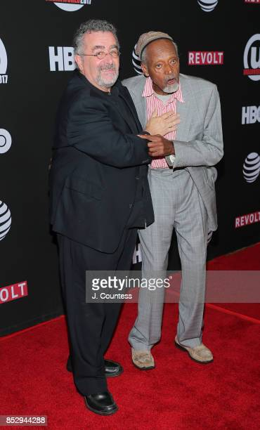 Saul Rubinek and filmmaker Melvin Van Peebles attends the 21st Annual Urbanworld Film Festival at AMC Empire 25 theater on September 23, 2017 in New...