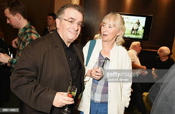 """Saul Rubinek and Gemma Jones attend the UK Premiere of """"The Carer"""" at the Regent Street Cinema on August 5, 2016 in London, England."""