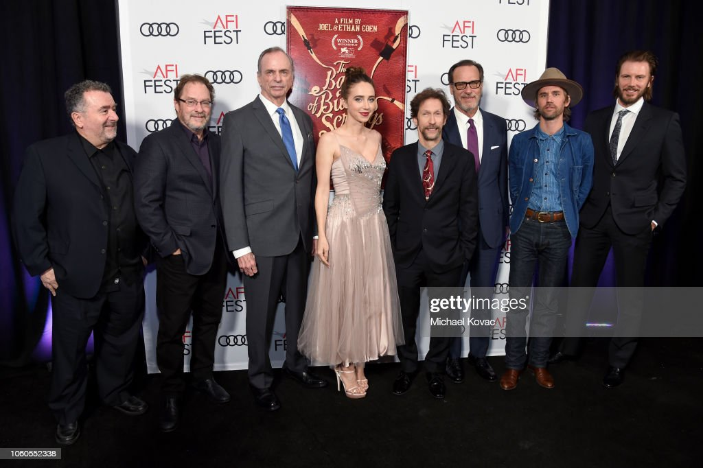 "AFI FEST 2018 - Gala Screening Of ""The Ballad Of Buster Scruggs"" : News Photo"