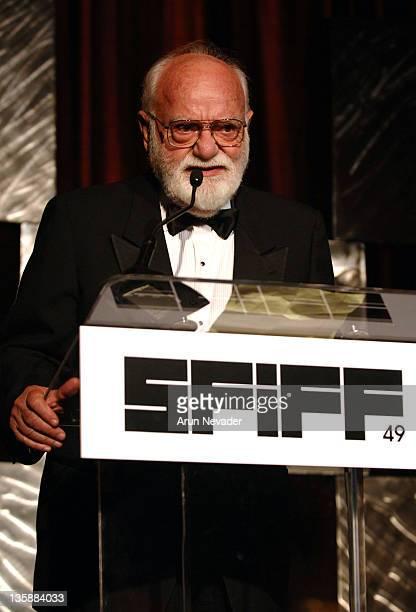 Saul Zaentz during 49th San Francisco International Film Festival Awards Night Presentations at Westin St Francis in San Francisco CA United States