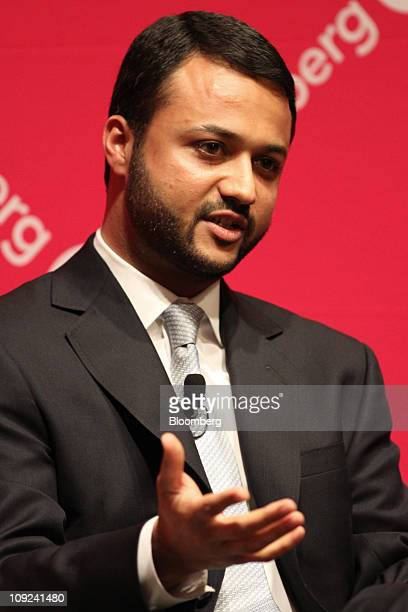 Saumil Parikh managing director and portfolio manager of Pacific Investment Management Co speaks during the Bloomberg Link Pensions and Endowment...