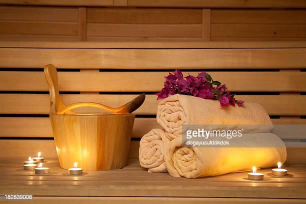 eine sauna - sauna stock-fotos und bilder