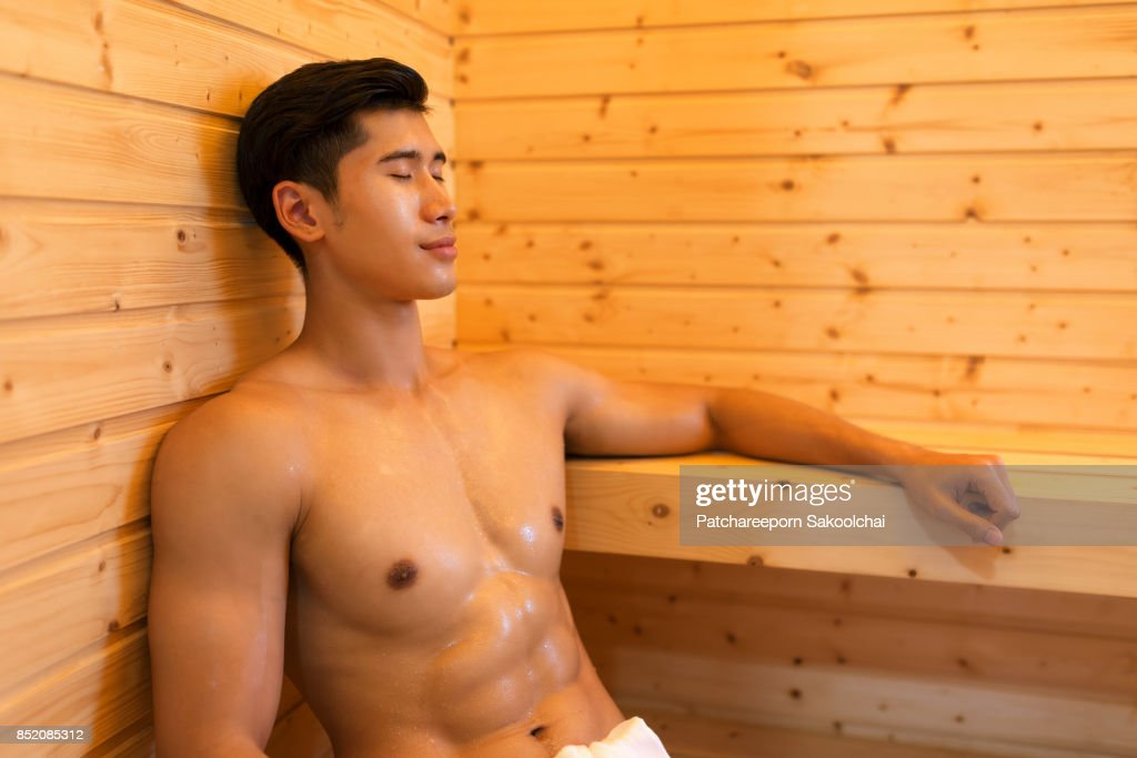 sauna : Stock Photo