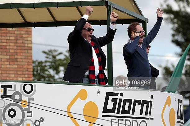 Sauro Notari president of Gubbio durnig the Serie D match between Gubbio and Parma Calcio 1913 on May 14, 2016 in Sansepolcro, Italy.