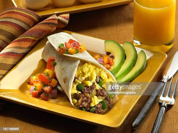 Sausage and Egg Breakfast Burrito