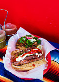 sausage mexican meat taco