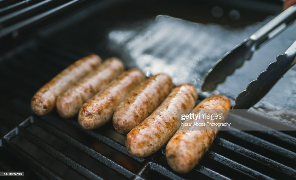 Sausage Barbecue. : Stock Photo