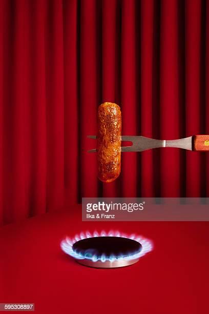Sausage Cooking