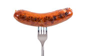 Sausage on a Fork