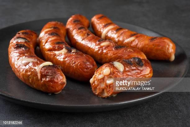 sausage - ソーセージ ストックフォトと画像