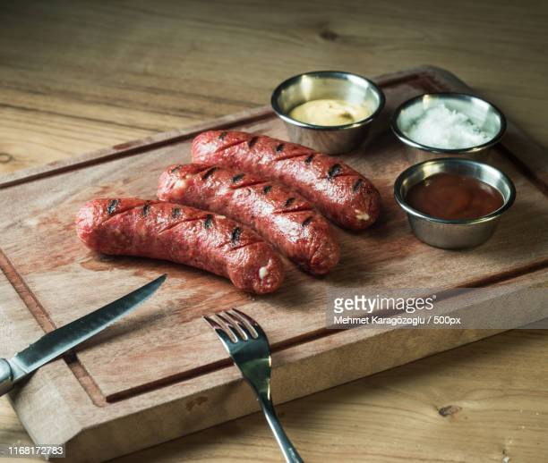 sausage - sausage stock pictures, royalty-free photos & images