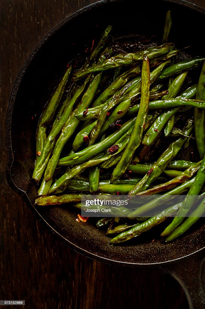 Sauteed String Beans : Stock Photo