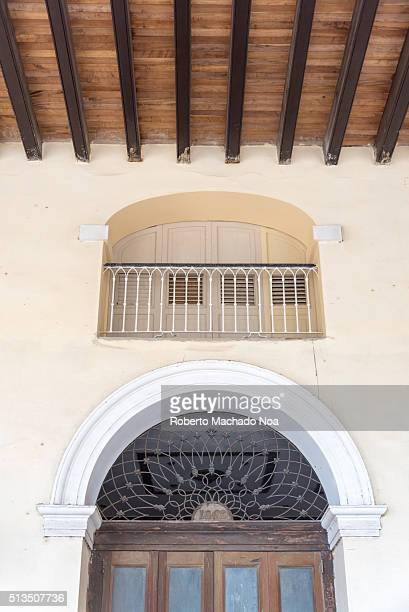 Sauto theater or Teatro Sauto exterior architecture details The city symbol is in revitalization process It is one of the eight grand theaters of the...