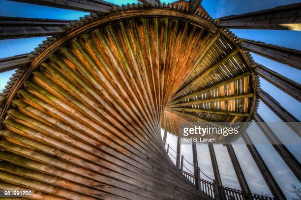 sauvabelin tower, lausanne - sony center berlin stock pictures, royalty-free photos & images