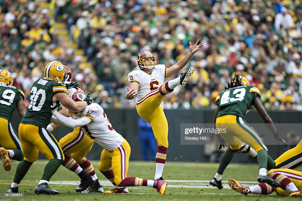 Washington Redskins v Green Bay Packers : News Photo