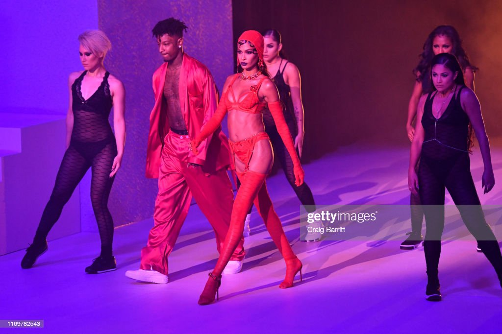 Savage X Fenty Show Presented By Amazon Prime Video - Inside : News Photo