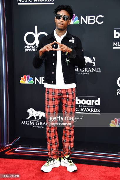 Savage attends the 2018 Billboard Music Awards at MGM Grand Garden Arena on May 20 2018 in Las Vegas Nevada