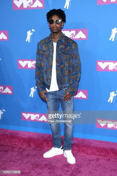 Savage attends the 2018 MTV Video Music Awards at Radio City Music Hall on August 20 2018 in New York City