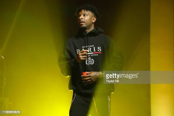 Savage performs during the 2019 Forbes 30 Under 30 Summit at Detroit Masonic Temple on October 27 2019 in Detroit Michigan