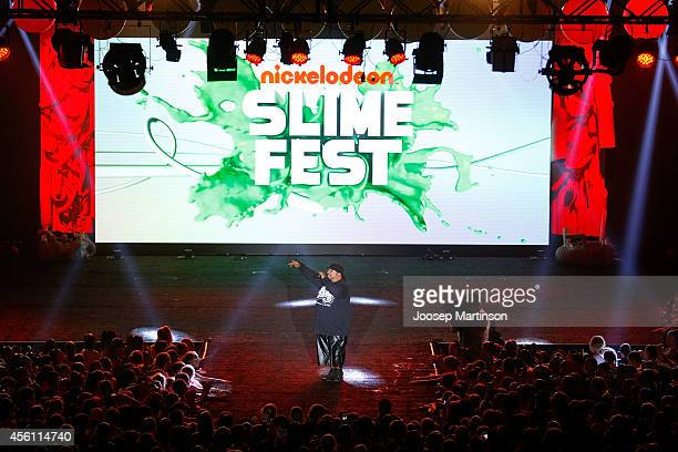 Savage performs during the Nickelodeon Slimefest 2014 matinee show at Sydney Olympic Park Sports Centre on September 26 2014 in Sydney Australia