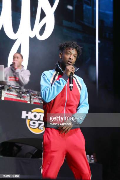Savage performs onstage at the 2017 Hot for the Holidays concert at Prudential Center on December 14 2017 in Newark New Jersey