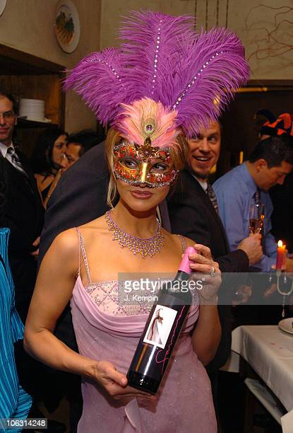 Savanna Samson during Adult Film Star Savanna Samson Launches Her New Savanna Wine at La Masseria Restaurant in New York City New York United States