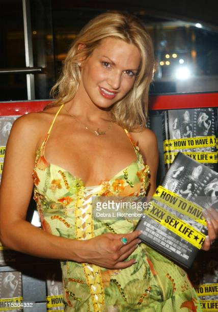Savanna Samson during Savanna Samson Signs Copies of Her New Book 'How To Have A XXX Sex Life' at Times Square Virgin Megastore in New York City New...