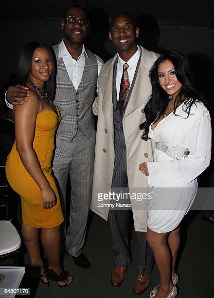 Savannah Brinson Lebron James Kobe Bryant and Vanessa Bryant attend Sprite's 3rd Annual JayZ And Lebron James Two Kings Dinner After Party