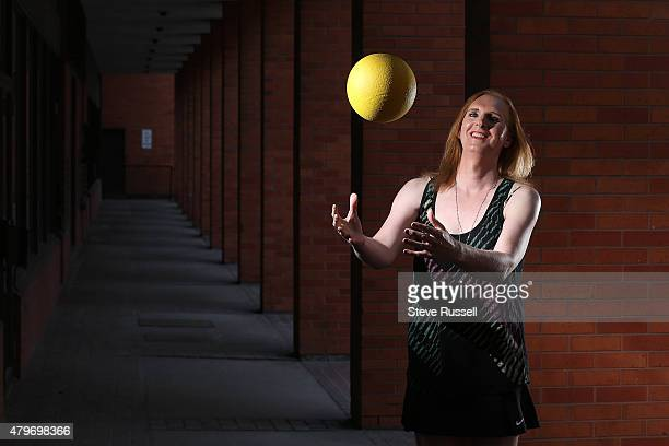 Savannah Burton is a transgender player on Canada's women's dodgeball team that will compete this year in Las Vegas at the world championships She...