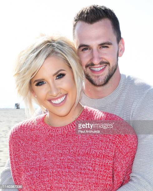 Savannah Chrisley and Nic Kerdiles celebrate their Engagement on March 27 2019 in Santa Monica California