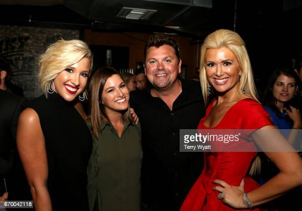 Savannah Chrisley Cassadee Pope Storme Warren and Allison Alderson attend the afterparty for the16th Annual Waiting for Wishes Celebrity Dinner...