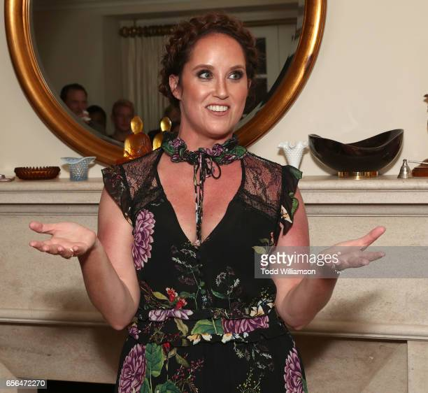 Savannah Film Festival Director Christina Routhier attends a party for the 20th Anniversary of the Savannah Film Festival hosted by CAA Agent Tracy...
