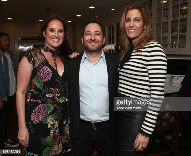 Savannah Film Festival Director Christina Routhier THR's Senior Awards Analyst Scott Feinberg and CAA Agent Tracy Brennan attend a party for the 20th...