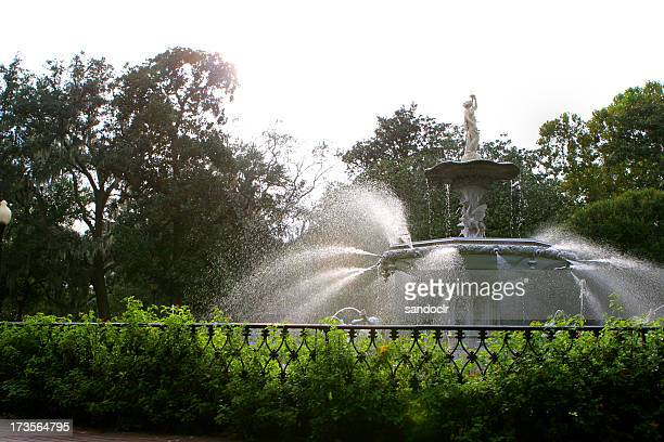 Savannah, Ga fountain