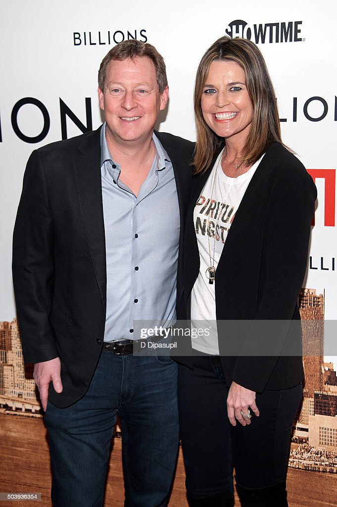 Savannah Guthrie And Husband Michael Feldman Attend The Billions News Photo Getty Images