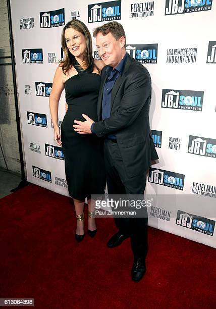 Savannah Guthrie and Michael Feldman attend the Jon Bon Jovi Soul Foundation 10 Year Anniversary at the Garage on October 6 2016 in New York City