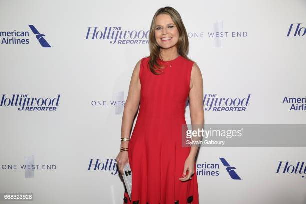 Savannah Guthrie attends The Hollywood Reporter's 35 Most Powerful People In Media 2017 on April 13 2017 in New York City