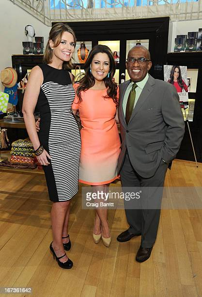 "Savannah Guthrie, Bobbie Thomas and Al Rocker attend ""The Power Of Style: Everything You Need To Know Before You Get Dressed Tomorrow"" book launch at..."