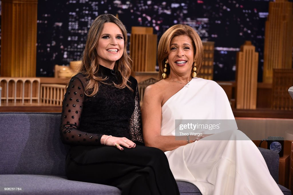 "Savannah Guthrie & Hoda Kotb Visit ""The Tonight Show Starring Jimmy Fallon"""
