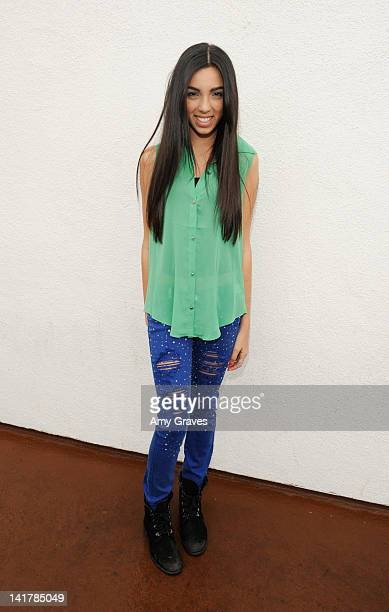 Savannah Hudson attends the Shamrock and Roll Concert for St. Jude Children's Hospital on March 17, 2012 in Los Angeles, California.