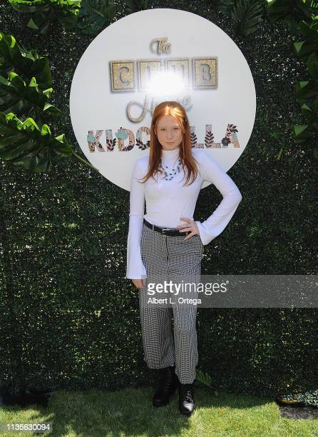 Savannah Liles arrives for Clubhouse Kidchella held at Pershing Square on April 6 2019 in Los Angeles California