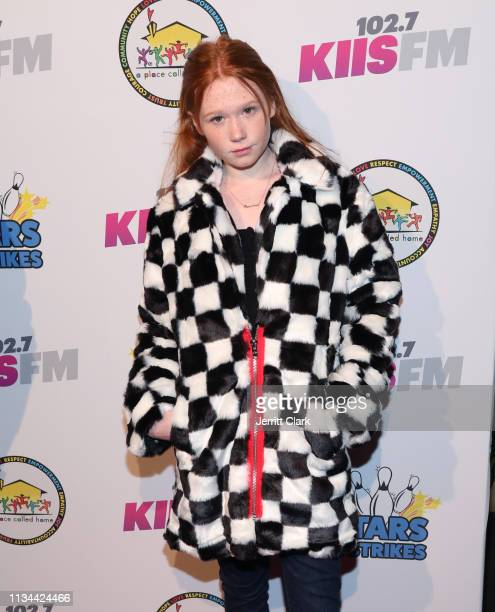 Savannah Liles attends A Place Called Home's Annual Stars And Strikes Celebrity Bowling And Poker Tournament at PINZ Bowling & Entertainment Center...