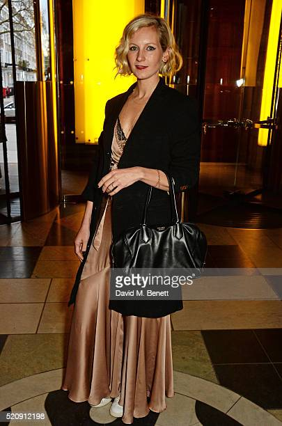 Savannah Miller attends a private view of new exhibition Undressed A Brief History Of Underwear at The VA on April 13 2016 in London England
